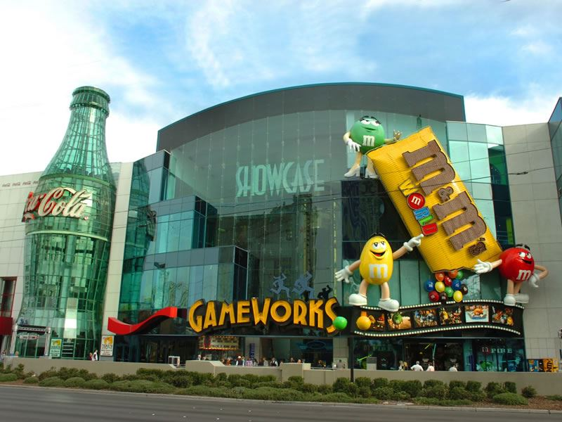 Gameworks, The Strip, Las Vegas