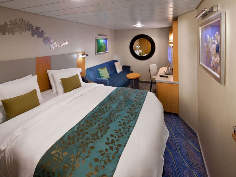 Royal Caribbean typical inside stateroom