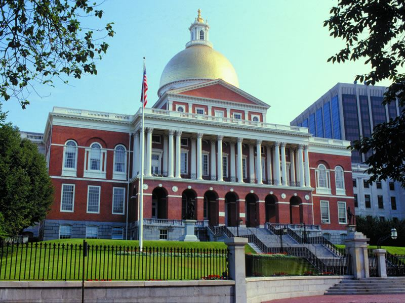 State House, Boston, USA