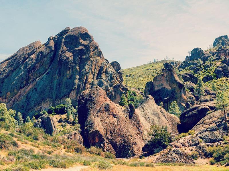 balconies cave trail pinnacles national park