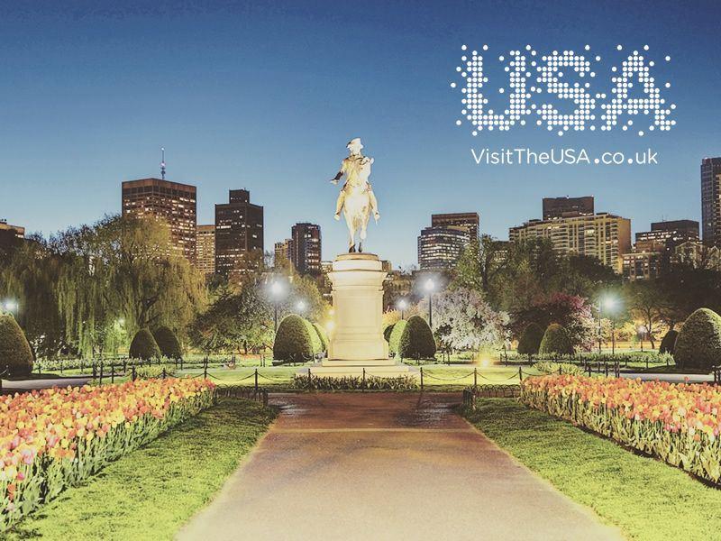 boston public gardens uk