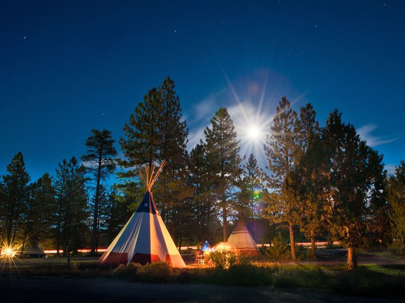 campground in bryce