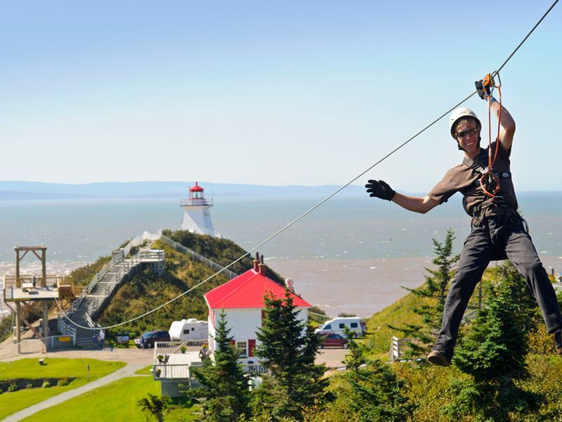 cape enrage interpretive centre bay of fundy new brunswick