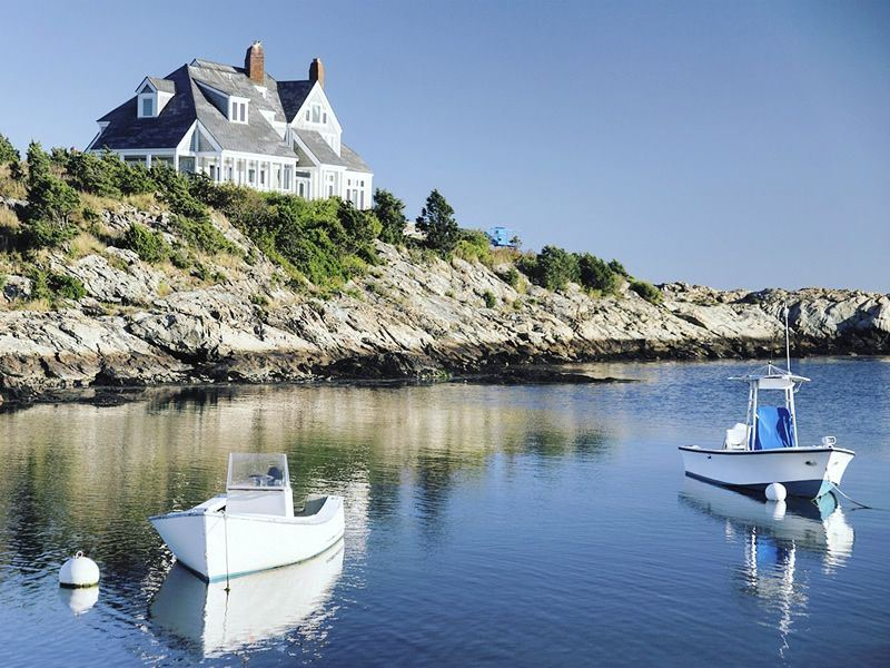 coastal home in newport rhode island