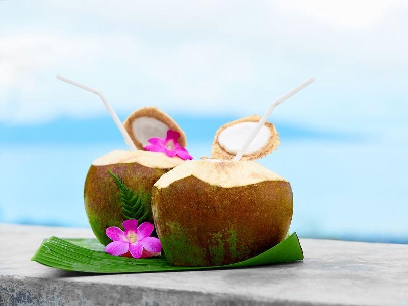 coconuts in tahiti