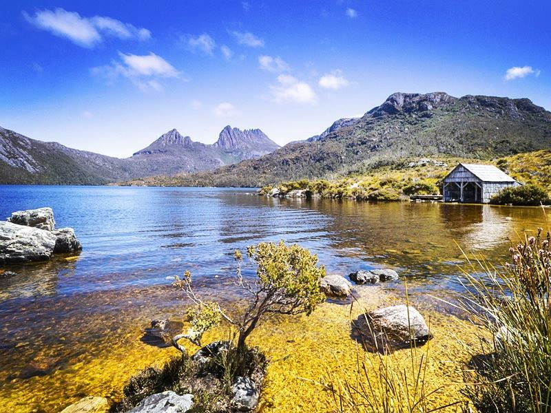 dove lake cradle mountain tasmania