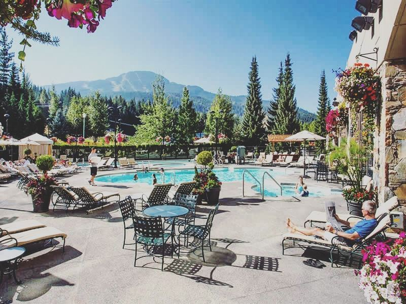fairmont chateau whistler hotel pool
