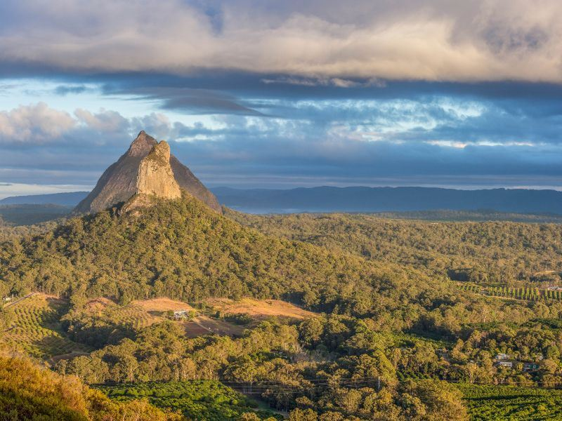 glasshouse mountain sunshine coast