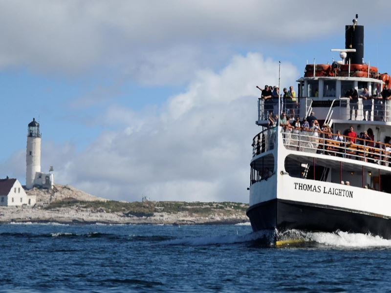 isle of shoals steamboat tours new hampshire