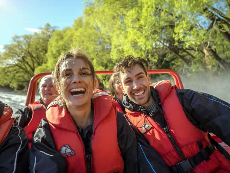 jet boat hanmer springs canterbury s island new zealand