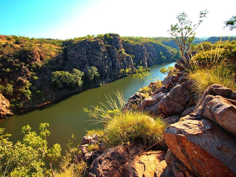 katherine gorge landscape northern territory