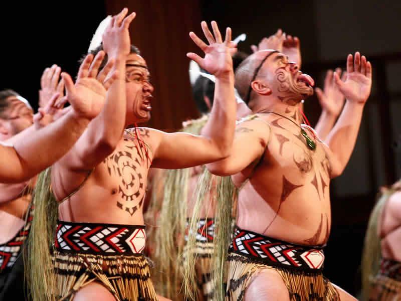 maori haka dance taranaki n island new zealand