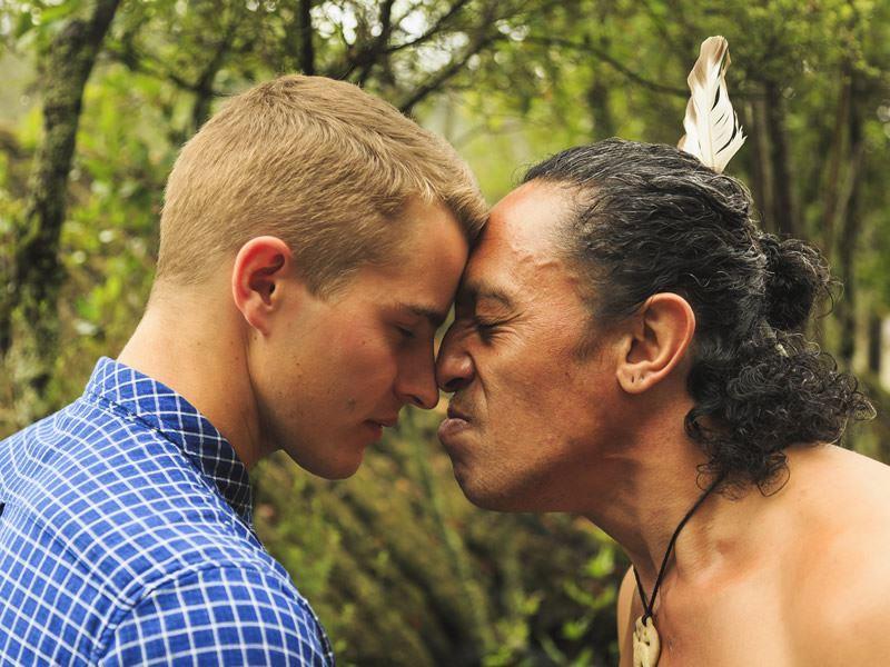 maori hongi greeting rotorua