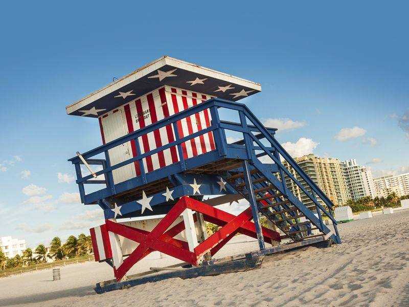 Miami lifeguard station