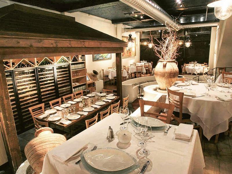 milos restaurant montreal