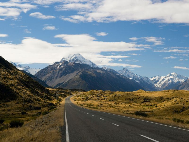 mount cook highway