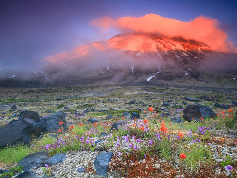 mount st helens oregon