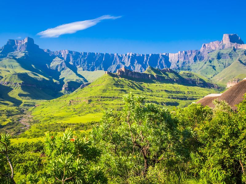 Northern Drakensberg's Amphitheatre