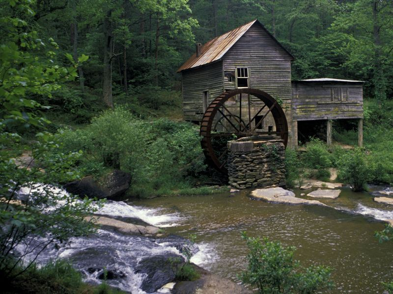 old georgia water mill
