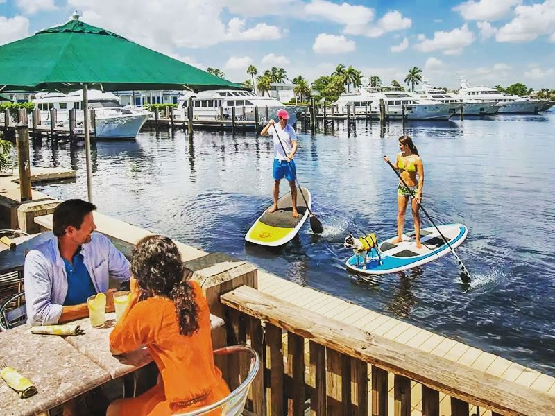 paddleboarding in fort lauderdale