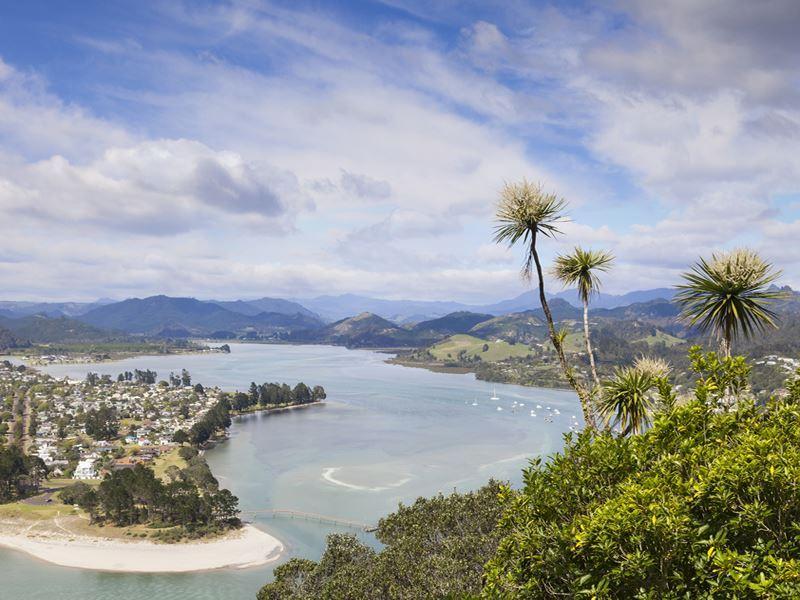pauanui view from mount puka