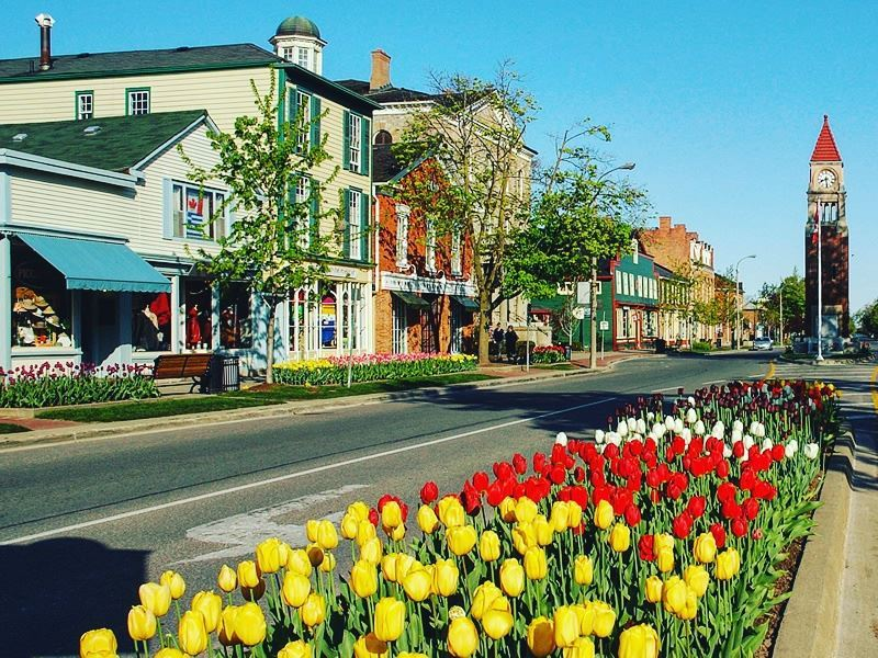 picturesque town niagara on the lake