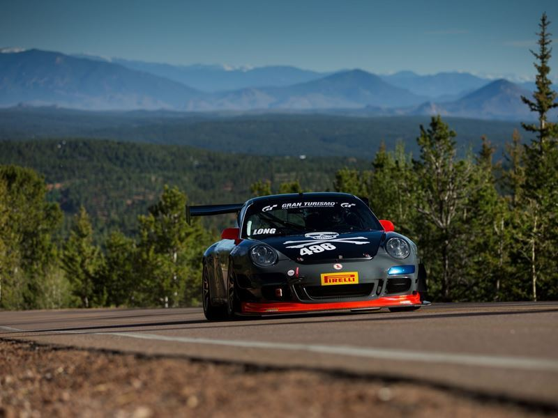 pikes peak hill climb event