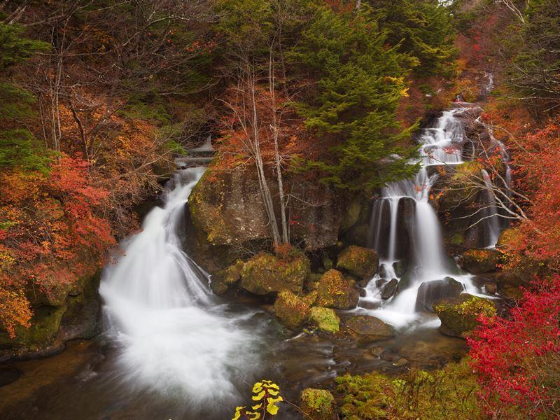 ryuzu falls near nikko