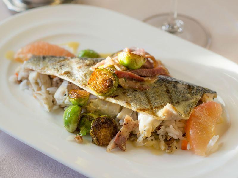 seafood dish circa 1886 restaurant charleston