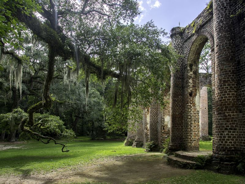 sheldon church ruins beaufort south carolina