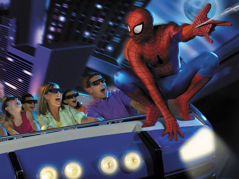 spiderman ride universal studios orlando