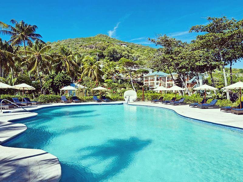 stunning bequia beach hotel pool