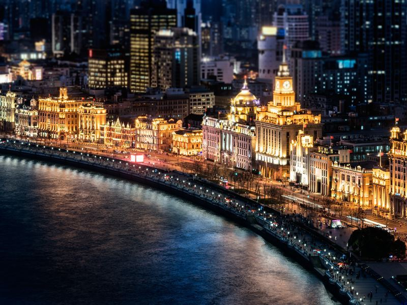 the bund shanghai night