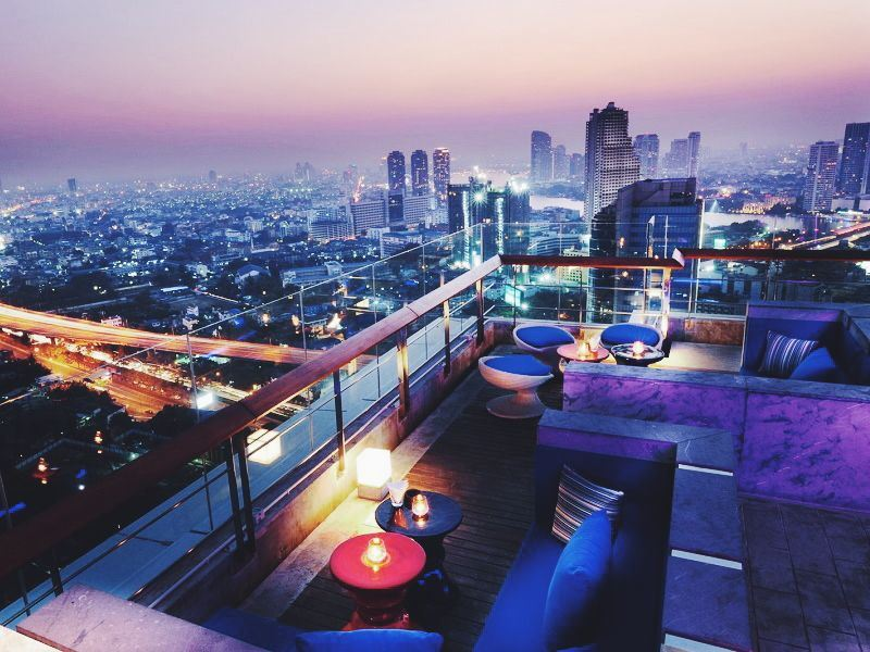 the roof at 38 bangkok