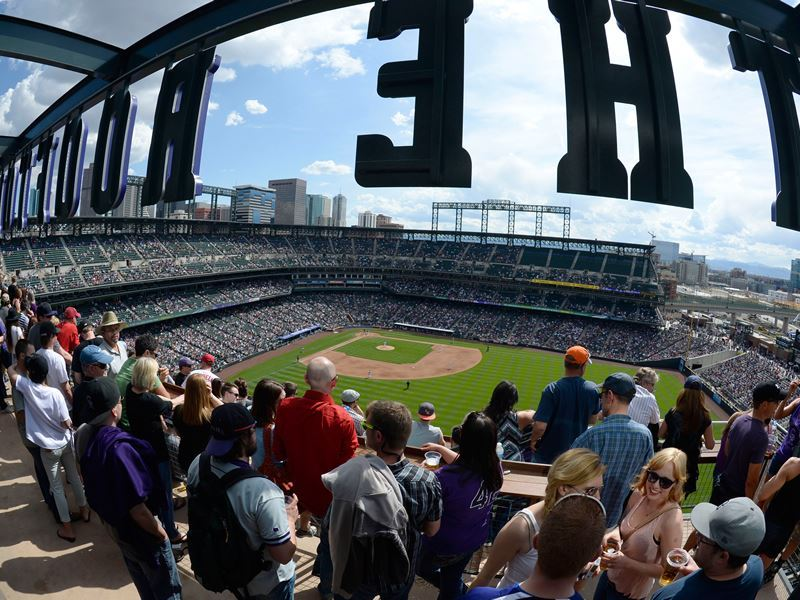 the rooftop at coors field denver