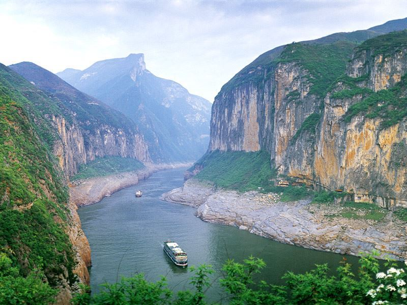 three gorges yangtze river china