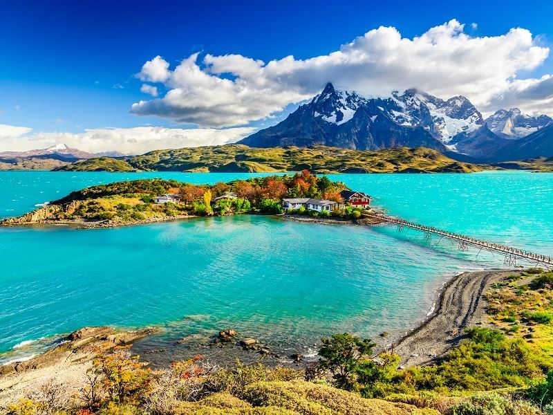 Stunning Torres del Paine National Park Scenery, Patagonia