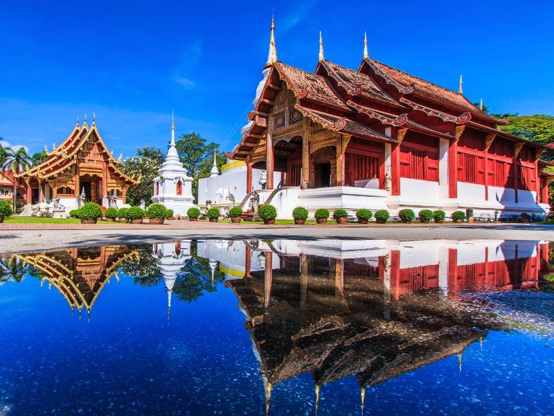 wat phra sing temple chiang mai