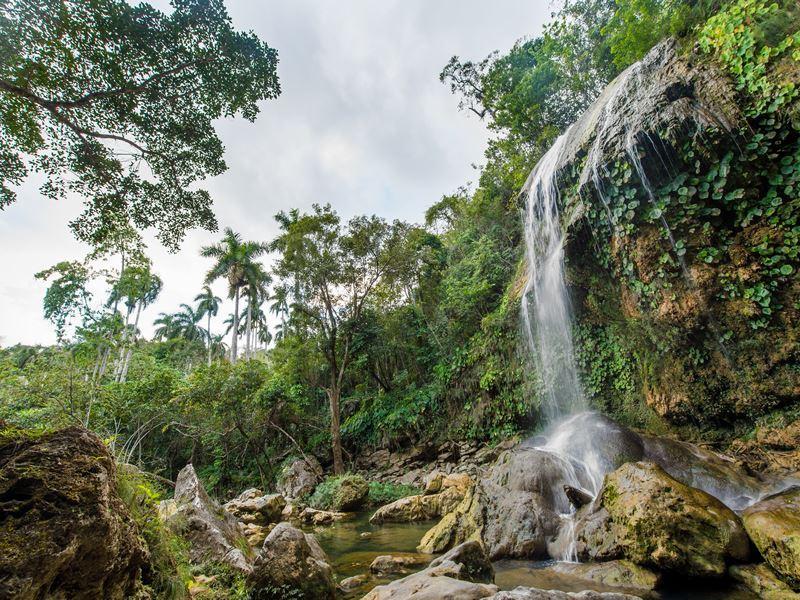 waterfall sierra rosario biosphere reserve cuba