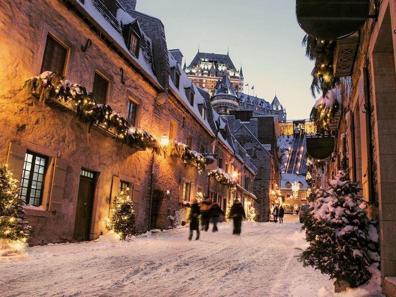 winter in quebec city