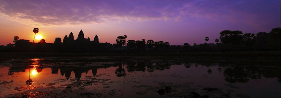 Angkor Wat Sunset, Siem Reap