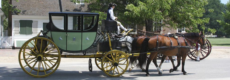 Carriage in Williamsburg