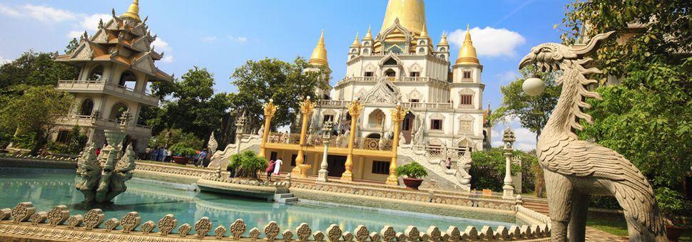 Buu Long Pagoda, Ho Chi Minh City, Vietnam