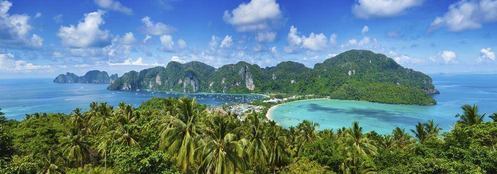 Koh Phi Phi panorama
