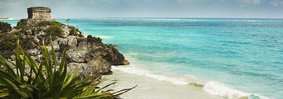 Tulum ruins in the Riviera Maya
